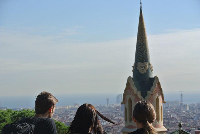 Barcelona von oben...