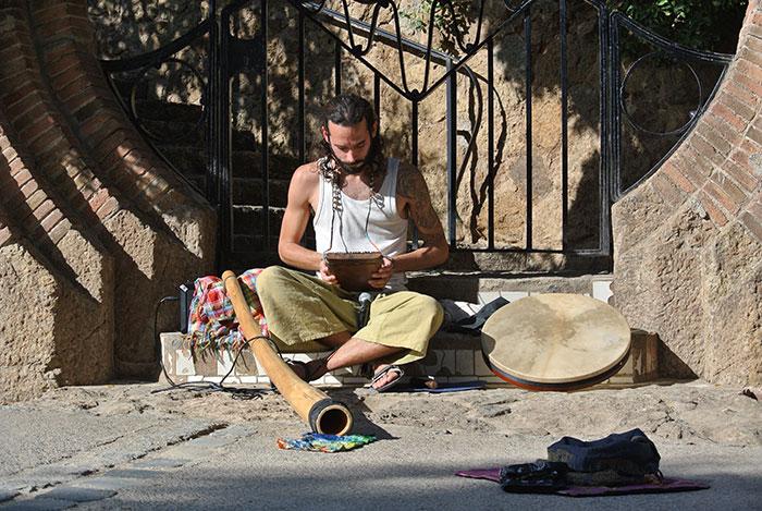 Kalimba und Didgeridoo - Nicest Nice :-)!