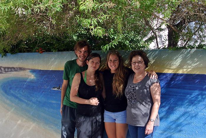 Vielen Dank an Chloé und Françoise für die tollen Erlebnisse... wir hoffen, dass ihr uns mal in Österreich besuchen kommt :-)