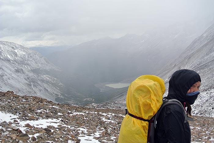 Ein kleiner Hügel dürfte natürlich nicht fehlen (John Garner Pass, 1200m)