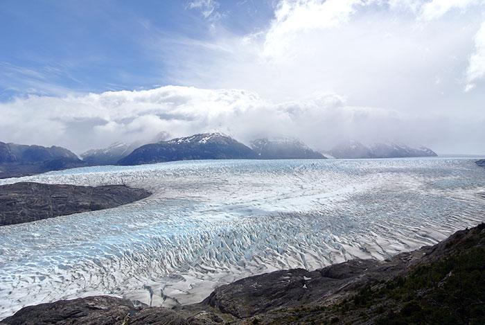 Gletscher Grey, einfach atemberaubend!