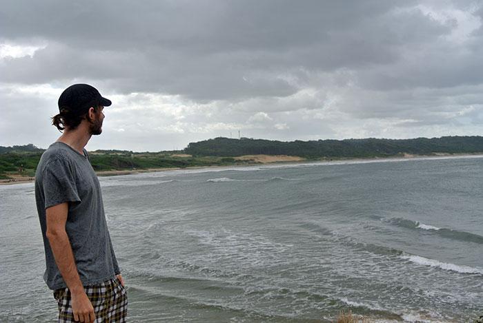 5 Stunden am Strand spatzieren... wir haben ja sonst nichts zu tun :-)