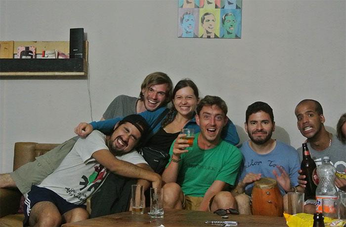 Danke für die nette Zeit in Montevideo!