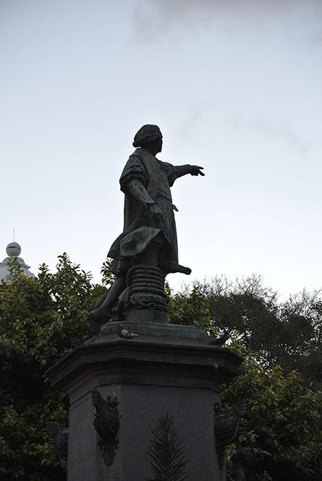 Kolumbus... der begegnet einem hier überall...