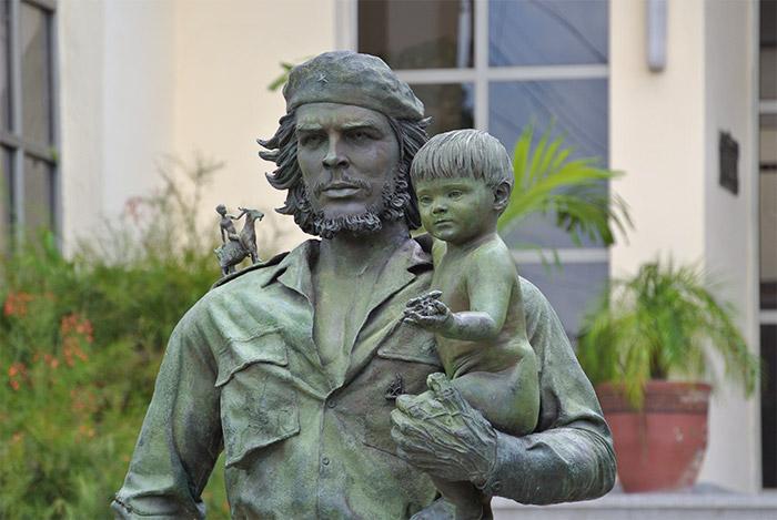 Che ist einfach überall in Kuba!