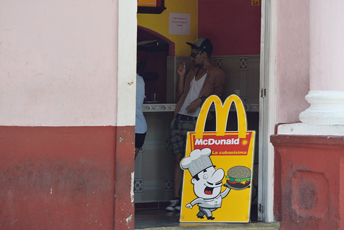 Die kubanische Version von McDonalds -> McDunald!